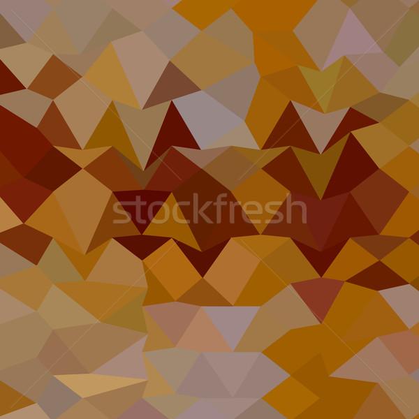 Mikado Yellow Abstract Low Polygon Background Stock photo © patrimonio