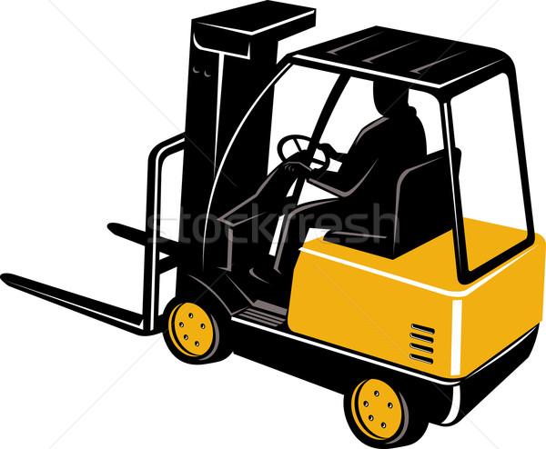 forklift truck Stock photo © patrimonio