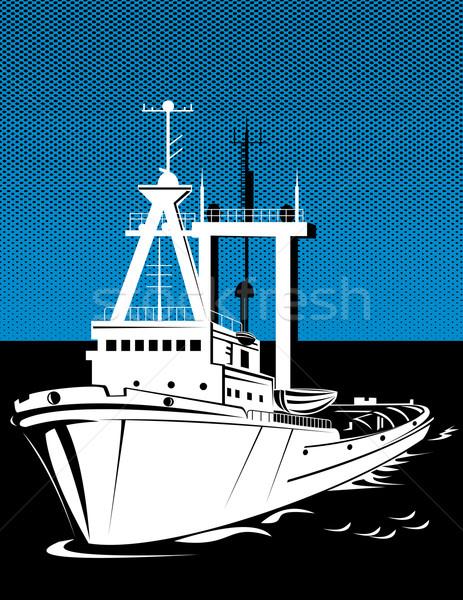 tug boat at sea Stock photo © patrimonio