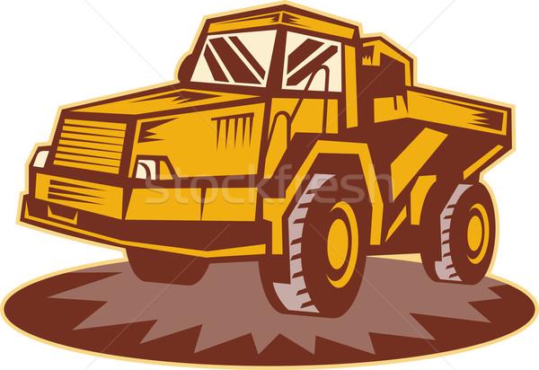 Mining dump truck Stock photo © patrimonio