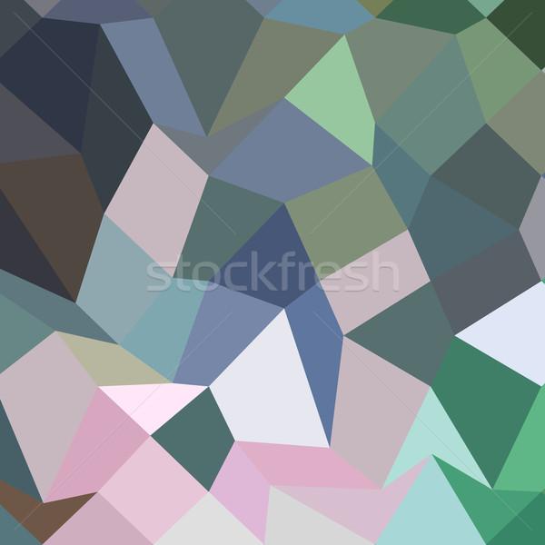 Light Pastel Purple Abstract Low Polygon Background Stock photo © patrimonio