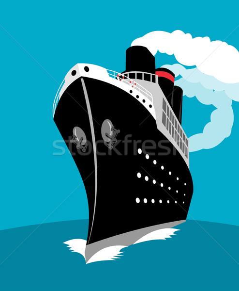 ocean liner passenger cruise ship Stock photo © patrimonio