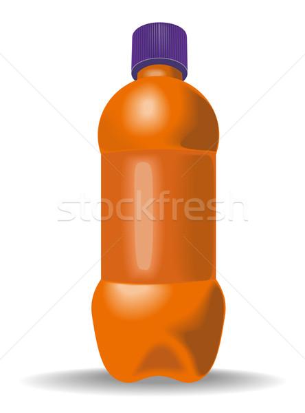Sosa botella CAP ilustración aislado blanco Foto stock © patrimonio