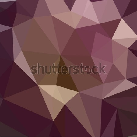 Deep Tuscan Red Purple Abstract Low Polygon Background Stock photo © patrimonio
