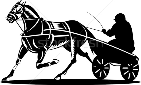 Harness Racing Stock Photos Stock Images And Vectors