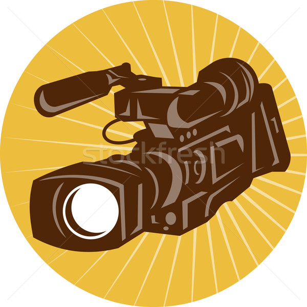 Professional Video Camera Camcorder Retro Stock photo © patrimonio