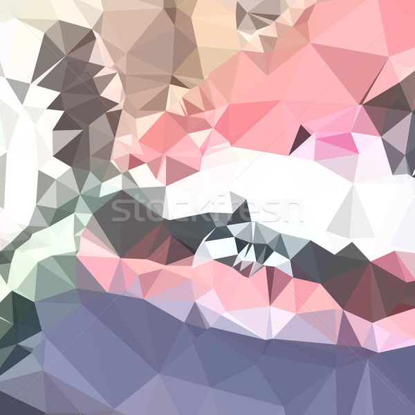 ラベンダー ピンク 抽象的な 低い ポリゴン スタイル ストックフォト © patrimonio