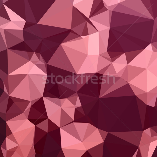 Imperial Purple Abstract Low Polygon Background Stock photo © patrimonio