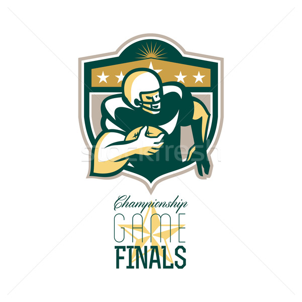 American Football Championship Game Finals QB Stock photo © patrimonio