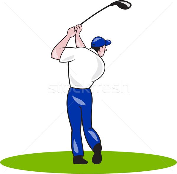 ゴルファー クラブ サークル 漫画 実例 演奏 ストックフォト © patrimonio
