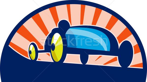 Sabun kutu derby araba yarış örnek Stok fotoğraf © patrimonio