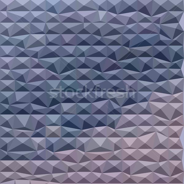 Pourpre résumé faible polygone style illustration Photo stock © patrimonio