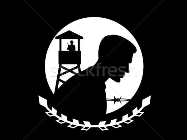 POW MIA Flag Stock photo © patrimonio