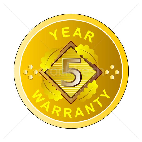 Año garantía ilustración palabra establecer dentro Foto stock © patrimonio