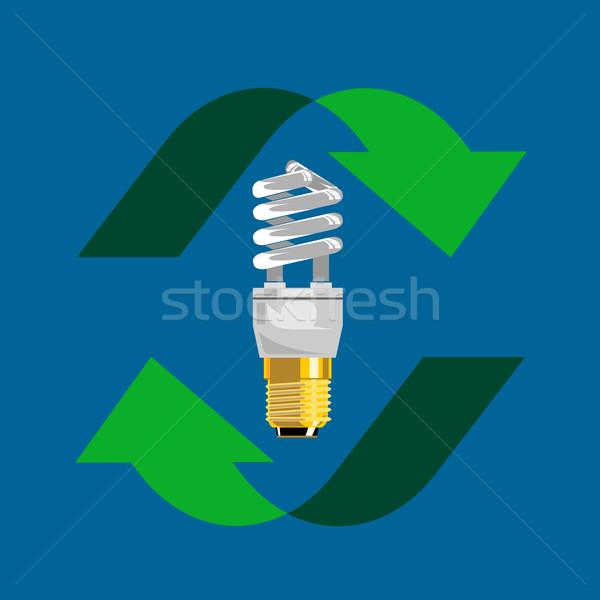 Energy Saver Bulb Stock photo © patrimonio