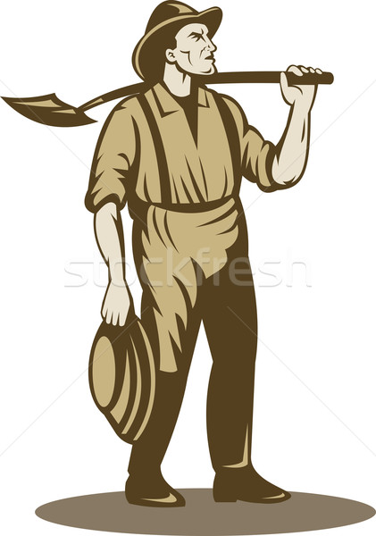 Miner, prospector or gold digger  Stock photo © patrimonio