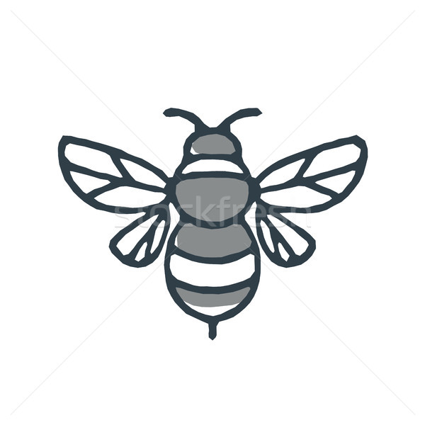 Bumblebee Bee Icon Stock photo © patrimonio