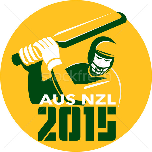 Cricket 2015 Australia New Zealand Stock photo © patrimonio