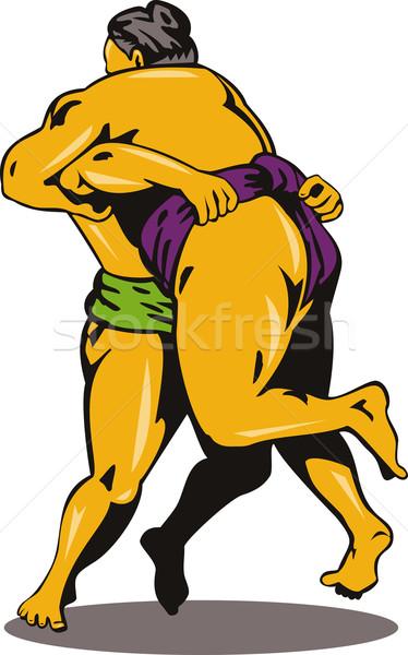 Japanese Sumo Wrestlers Stock photo © patrimonio