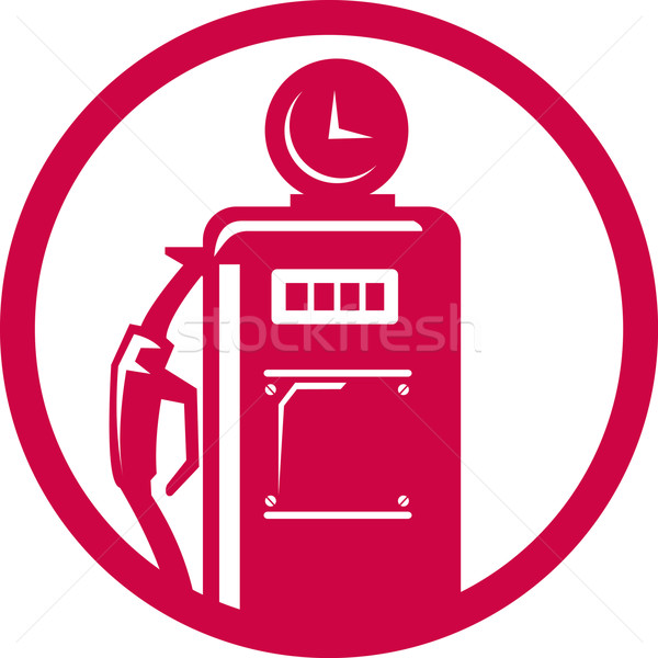 Gasoline pump filling station Stock photo © patrimonio