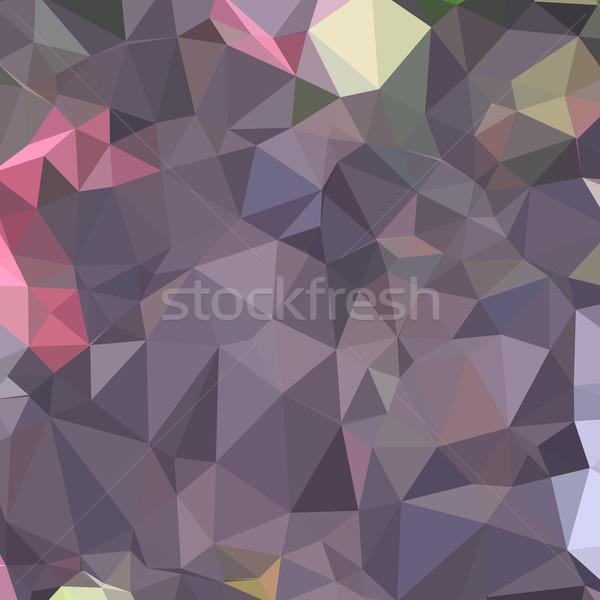 Uva viola abstract basso poligono stile Foto d'archivio © patrimonio