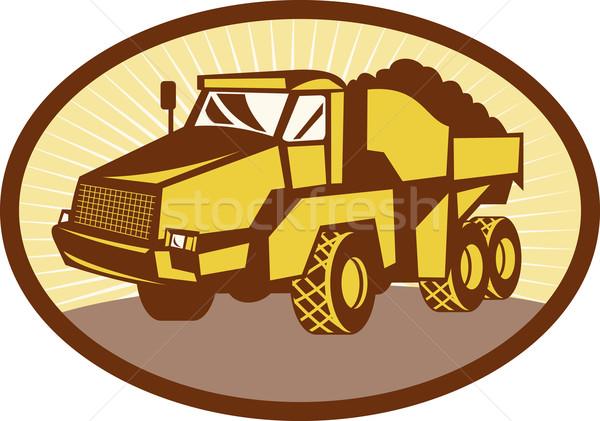 Mining Tipper dumper dump truck Stock photo © patrimonio