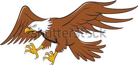 грифон лев иллюстрация гриф вид сбоку Сток-фото © patrimonio