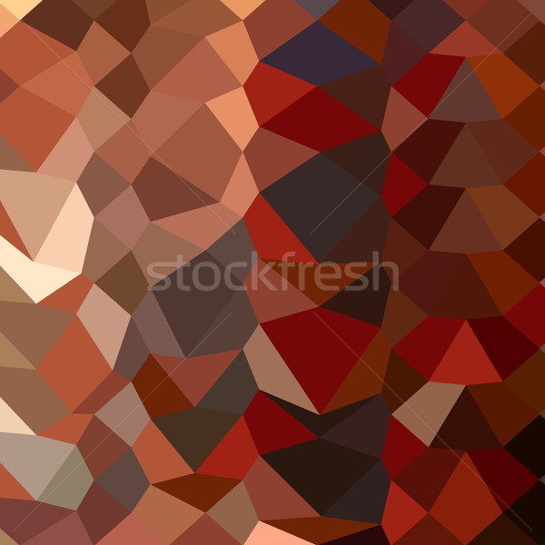 Sötét pasztell piros absztrakt alacsony poligon Stock fotó © patrimonio