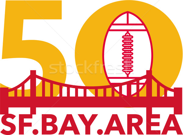 Pro Football Championship 50 SF Bay Area Stock photo © patrimonio