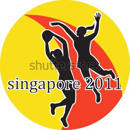 Games 2012 Track and Field Hurdles British Flag Stock photo © patrimonio