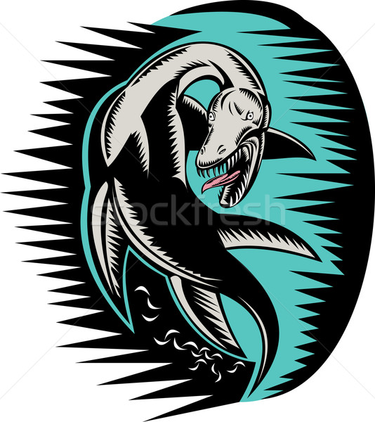 Loch ness monster Stock photo © patrimonio