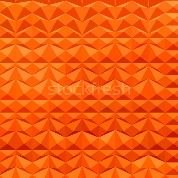 красный горные аннотация низкий многоугольник стиль Сток-фото © patrimonio