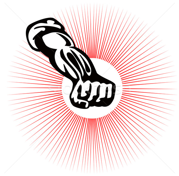 Clenched Fist Up Stock photo © patrimonio