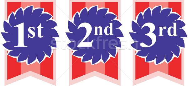 1st 2nd 3rd Rosette Awards Stock photo © patrimonio