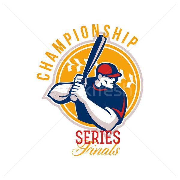 Championship Baseball Series Finals Retro Stock photo © patrimonio