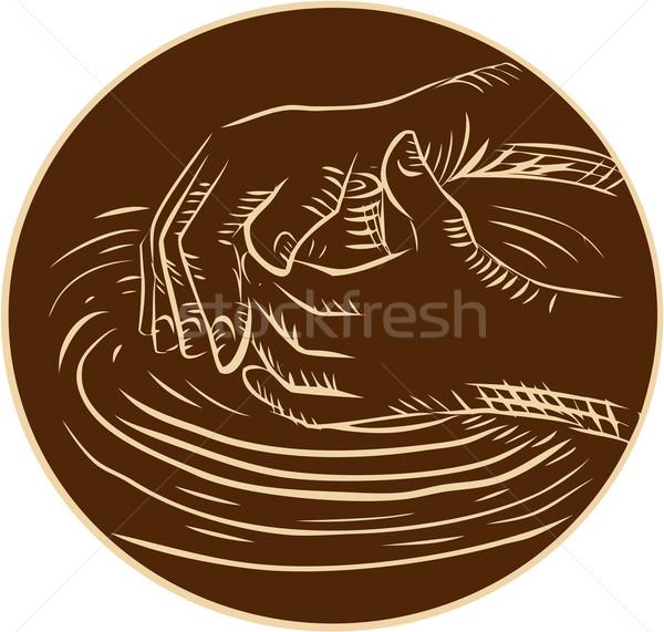 Hand aardewerk klei handgemaakt stijl Stockfoto © patrimonio
