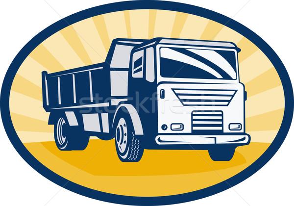 dumper or dump truck Stock photo © patrimonio