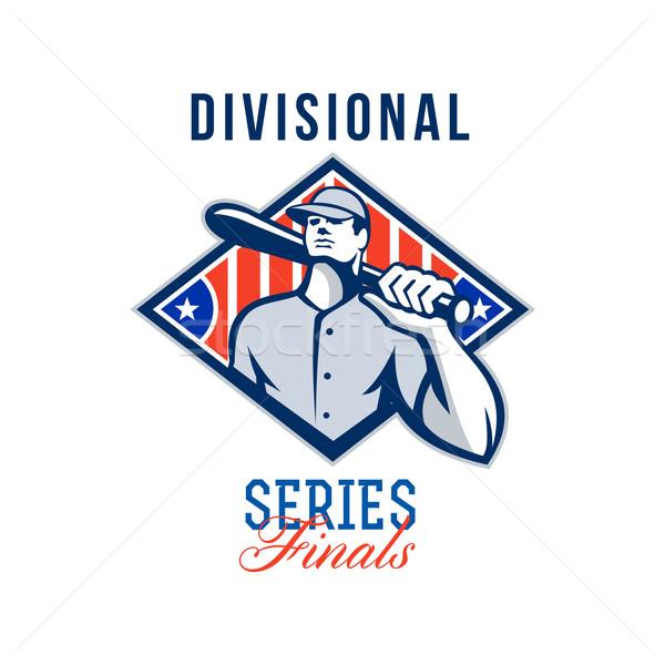 Baseball Divisional Series Finals Retro Stock photo © patrimonio
