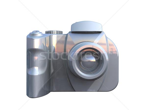 DSLR camera isolated on white  Stock photo © patrimonio