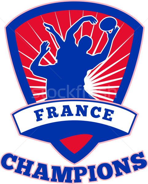 Rugby Player France  Champions Stock photo © patrimonio