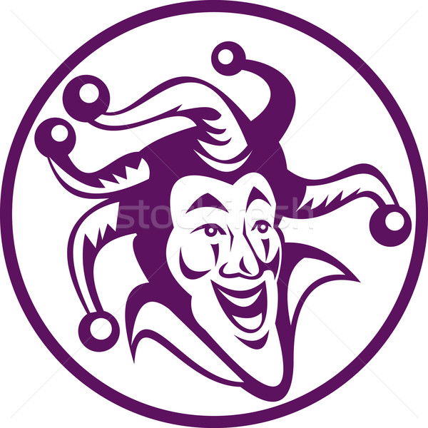 jester icon Stock photo © patrimonio