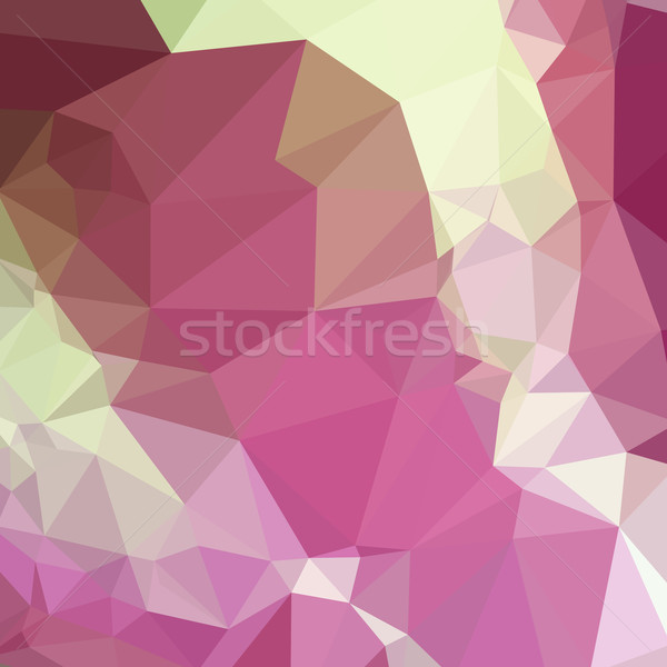 Luz rosa resumen bajo polígono estilo Foto stock © patrimonio