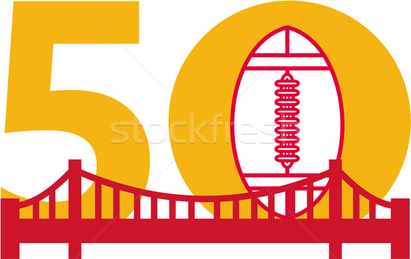 Pro Football Championship 50 Bridge Stock photo © patrimonio