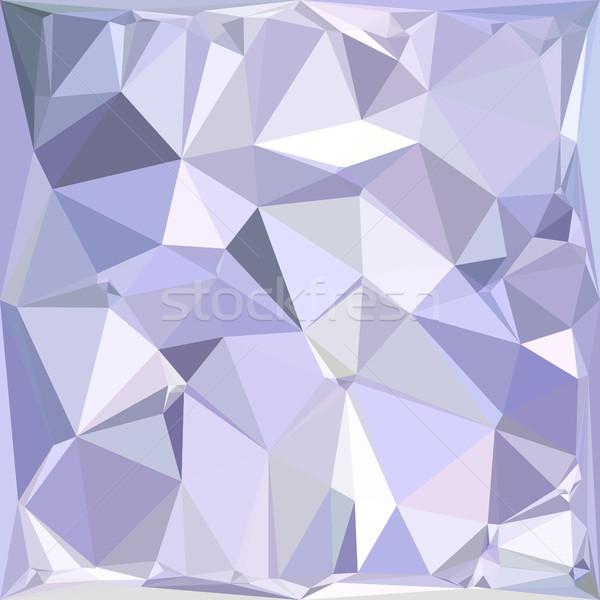 Lavendel abstract laag veelhoek stijl illustratie Stockfoto © patrimonio