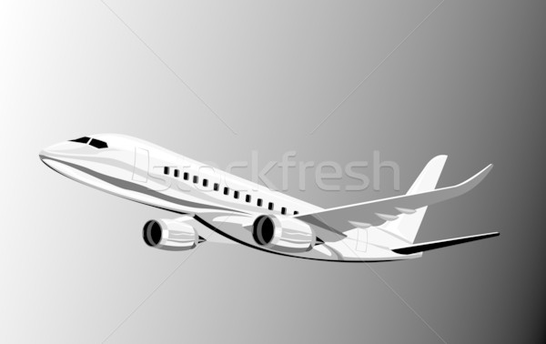 jumbo jet plane Stock photo © patrimonio