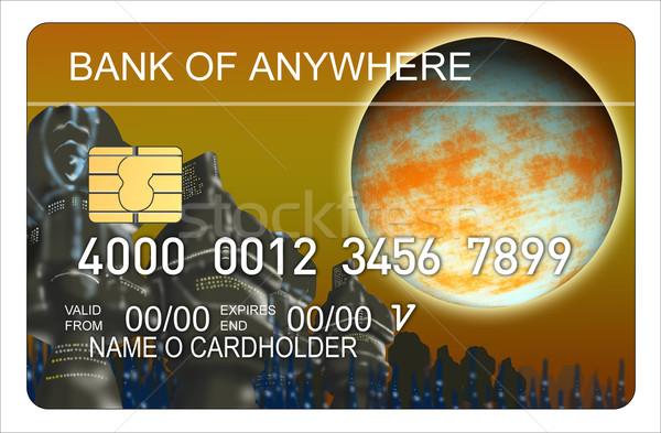 Credit Card Stock photo © patrimonio