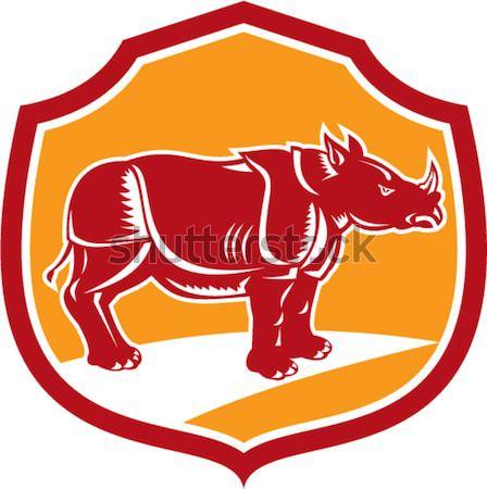 Texas Longhorn Bull attacking  Stock photo © patrimonio