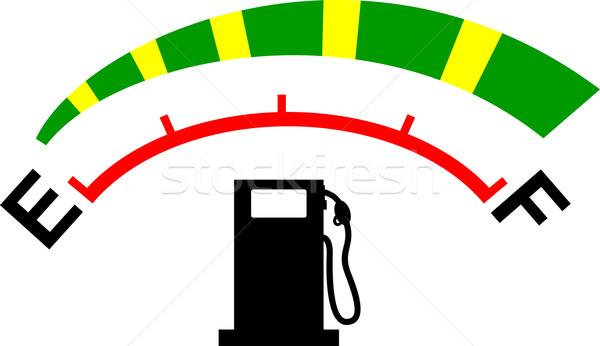 fuel gage meter  Stock photo © patrimonio