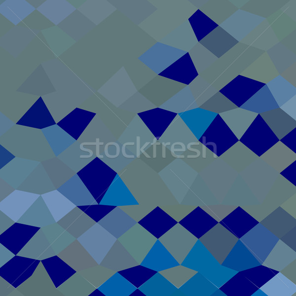 Blue Pigment Abstract Low Polygon Background Stock photo © patrimonio
