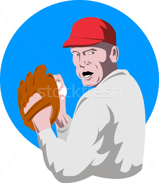 baseball player pitcher Stock photo © patrimonio